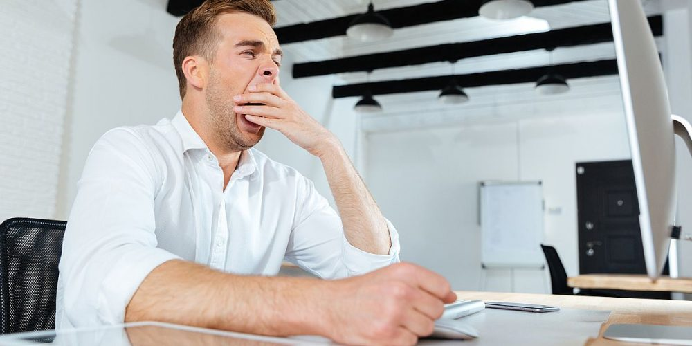 «Δεν τρώω στη δουλειά για να μην νυστάζω!»