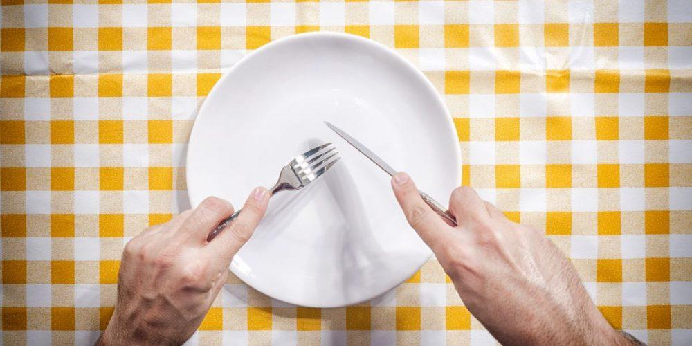 Bλέπεις και εσύ, το πιάτο σου πάντα άδειο;